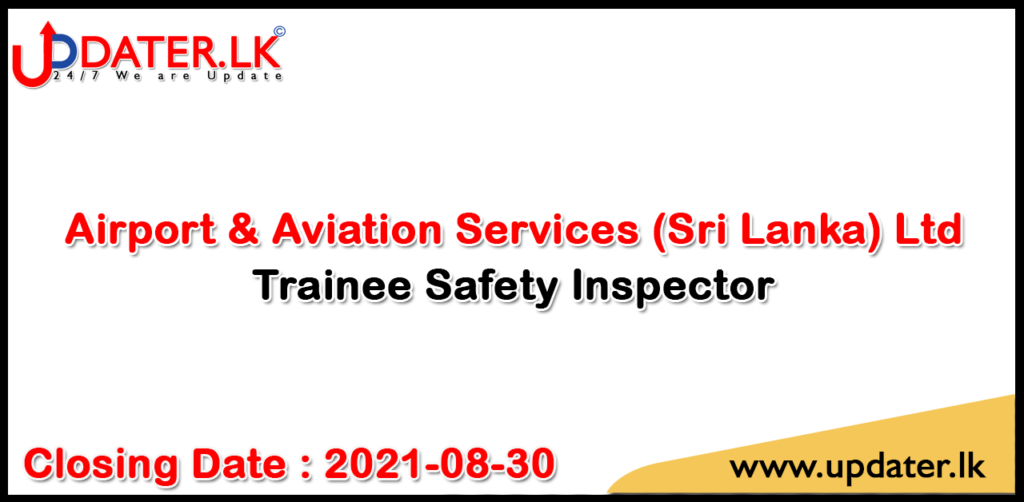 Trainee Safety Inspector