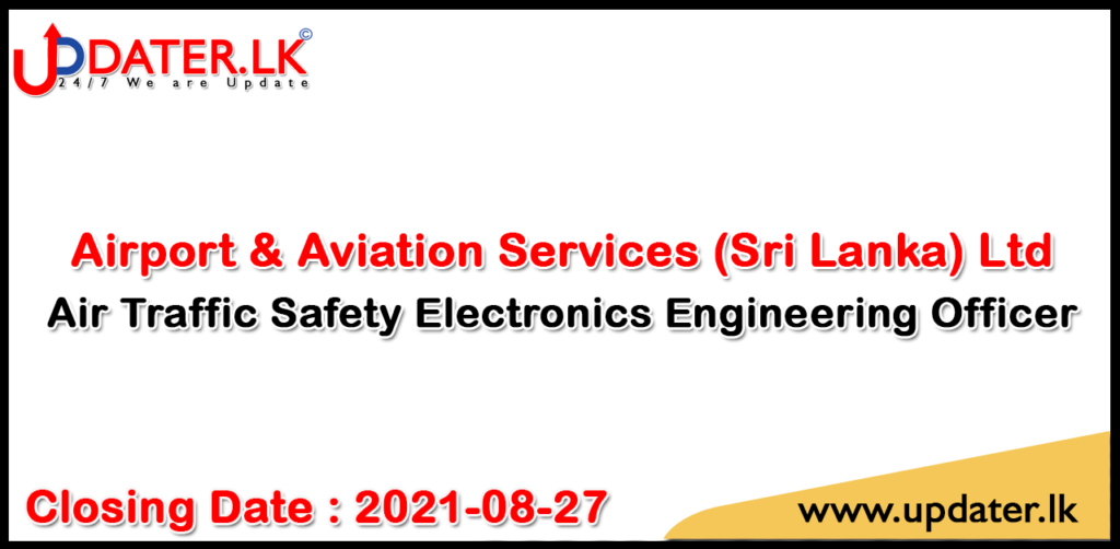 Air Traffic Safety Electronics Engineering Officer