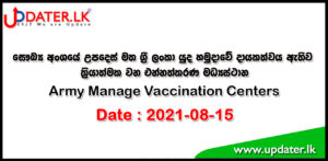 Vaccination Centers today